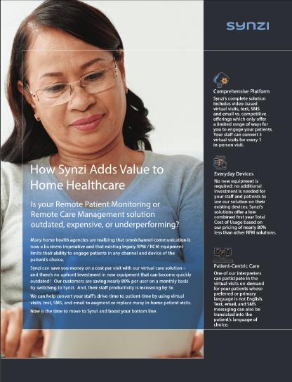 Home Health Value Add