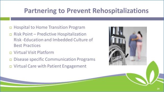Partnering to Prevent Re-hospitalizations