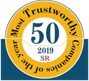 50 Most Trustworthy small