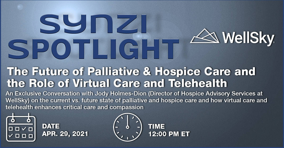 Events Banner Synzi Spotlight - The Future of Palliative & Hospice Care v2