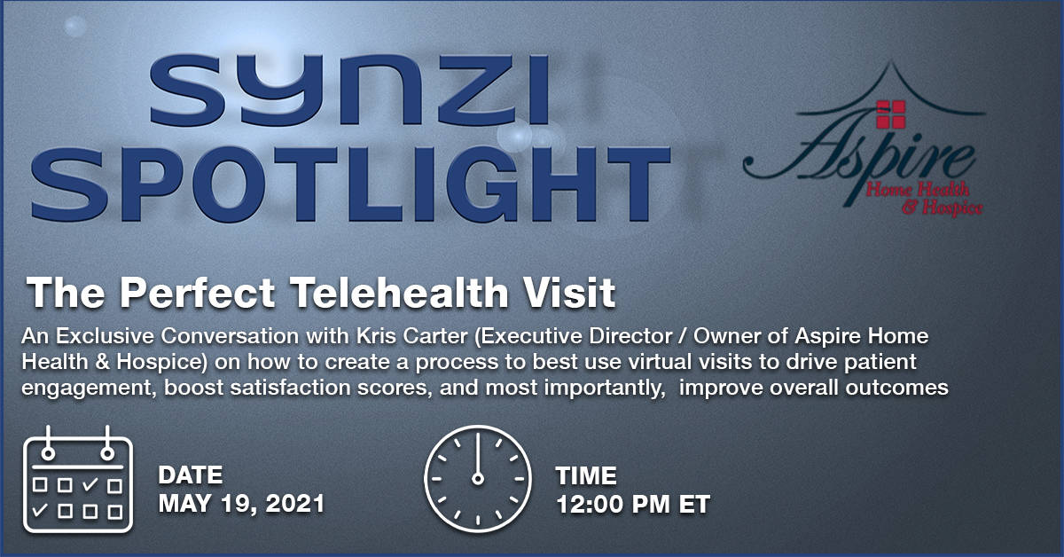 Events Banner - Synzi Spotlight - The Perfect Telehealth v1