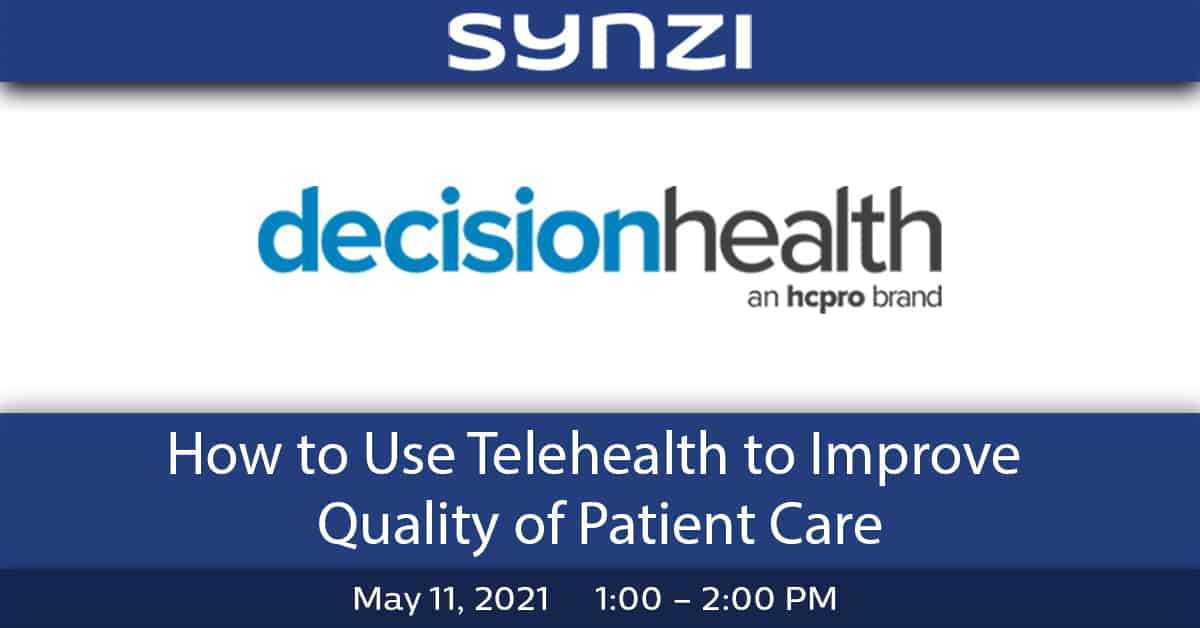 How to Use Telehealth to Improve Quality of Patient Care - Events and Webinar banner v1