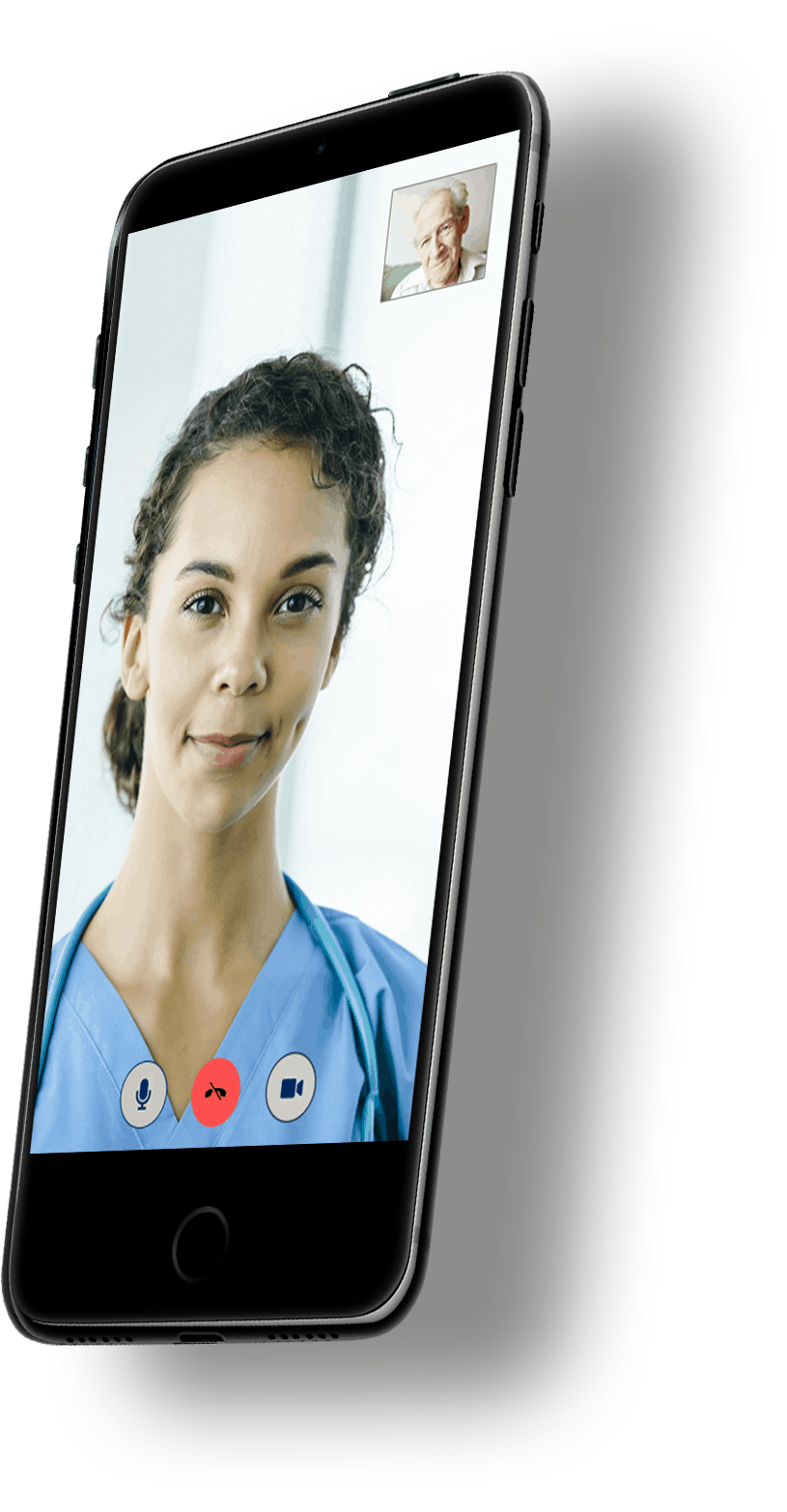 Phone - Virtual Care with Shadow